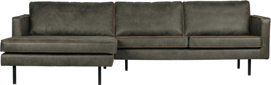 Groene Bank Met Chaise Longue.Bepurehome Rodeo 3 Zits Met Chaise Longue Links Army