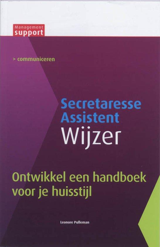 Secretaresse Assistant Wijzer - Ontwikkel een handboek voor je huisstijl