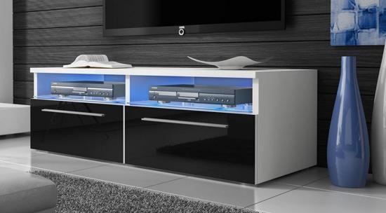 Led Verlichting Kast : Bol tv meubel tv kast sieno met led verlichting body wit