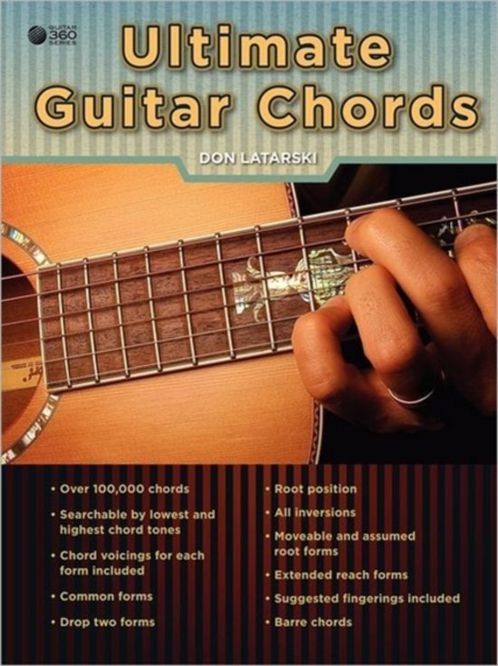Bol Ultimate Guitar Chords Don Latarski 9780557719136 Boeken