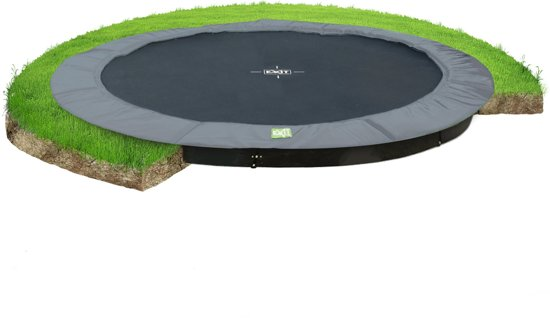 EXIT InTerra Ground Level Inground Trampoline à 366 cm