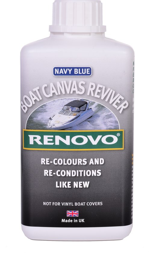 Boat Canvas Reviver Navy Blue- Boot Canvas verzorging 1L RENOVO