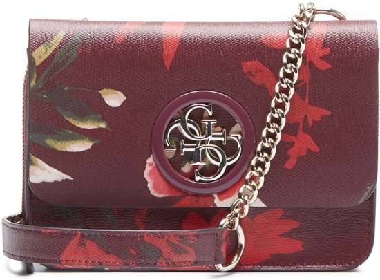 GUESS Open Road Mini Flap Floral Crossbody Tas HWPF71-86780-FLR 0fadd17557768