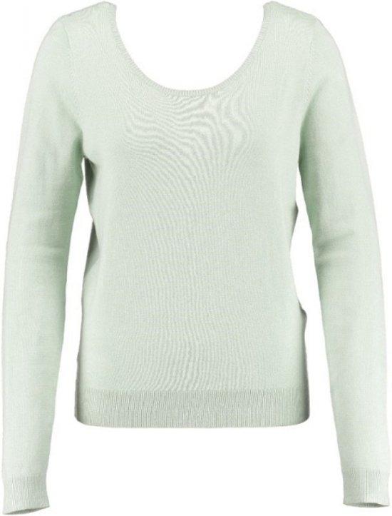 Vero moda trui aqua foam kant op rug - Maat XL