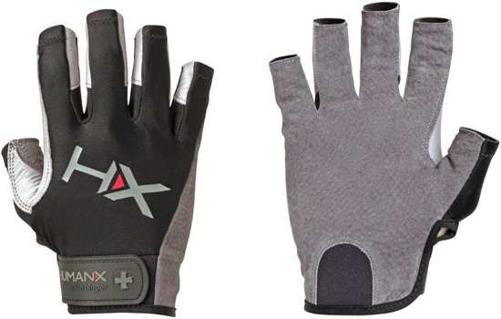 84e3d9b5e18 Men's X3 Pro Competition Open Finger Crossfit - Fitness Handschoenen - S -  Zwart/Grijs