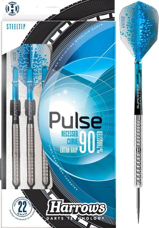 Harrows Pulse 90% TUNGSTEN 22 gram Steeltip Dartpijlen