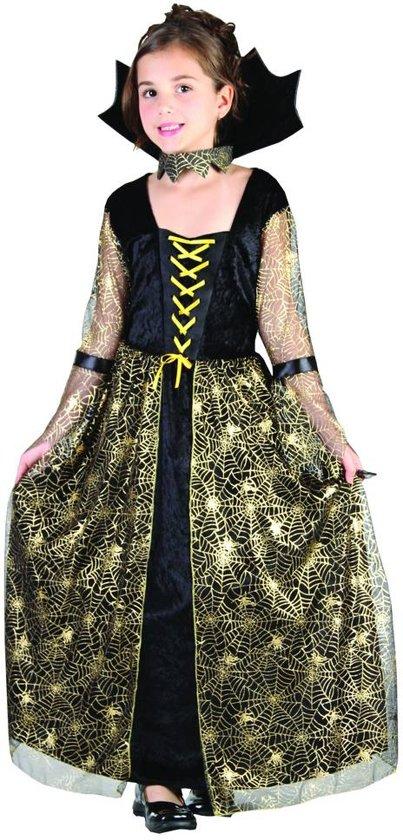 Halloween heksen kostuum voor meisjes - Verkleedkleding - 134-146