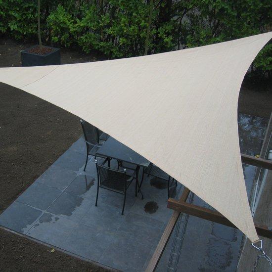 NC Outdoor Schaduwdoek driehoek 3,6m wit