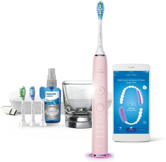 Philips Sonicare DiamondClean Smart HX9924/23 - Elektrische tandenborstel – Roze