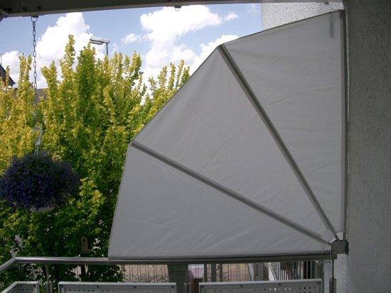 balkonscherm model wayfer grijs. Black Bedroom Furniture Sets. Home Design Ideas
