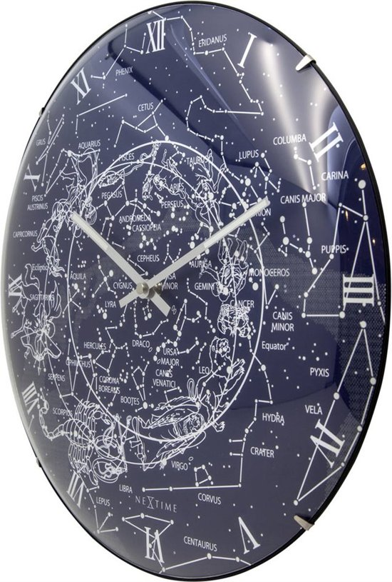 NeXtime Milky Way Dome Wandklok à 35,6 cm