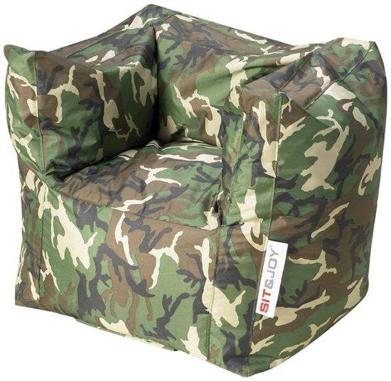 Sit Joy Zitzak Camouflage.Bol Com Sit Joy Lounge Chair Zitzak 65x70x90 Cm