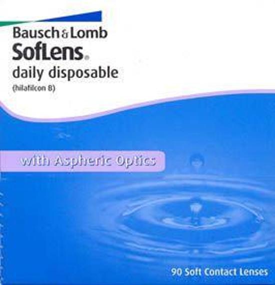 Soflens Daily Disposable Dag -4.50 - 90 stuks - Contactlenzen