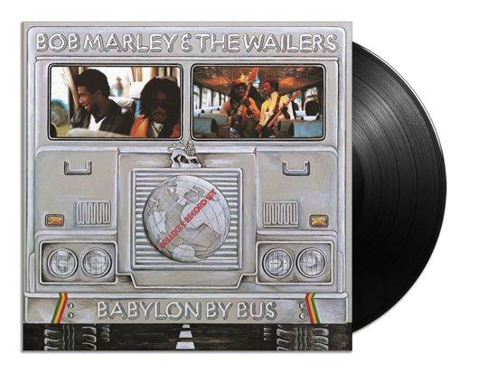 CD cover van Babylon by Bus (LP) van Bob & The Wailers Marley