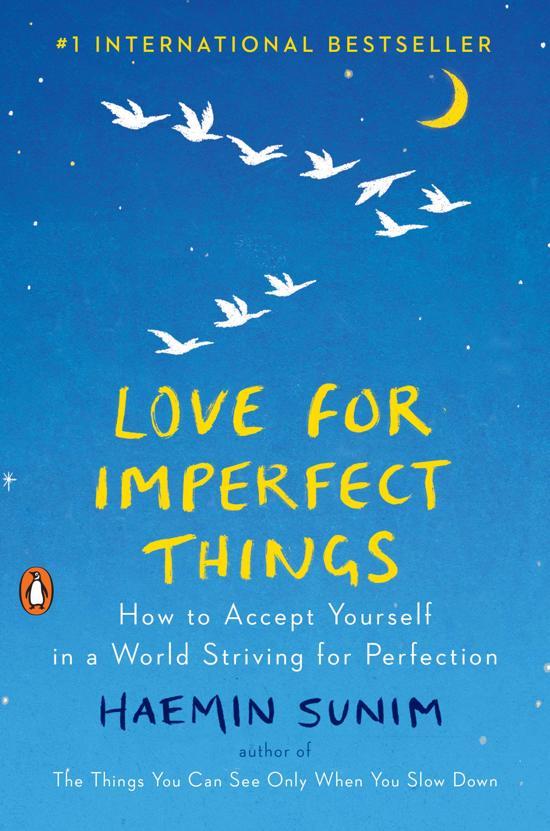 Boek cover Love for Imperfect Things van Haemin Sunim (Hardcover)