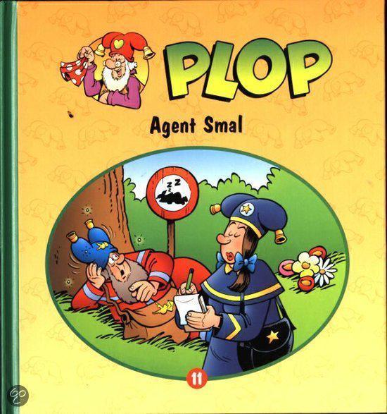Boek cover Plop 11 - Agent Smal van D. Verbiest (Hardcover)