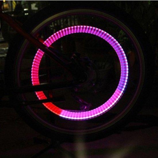 bolcom fietswielverlichting led multicolor ventiellampjes 2st