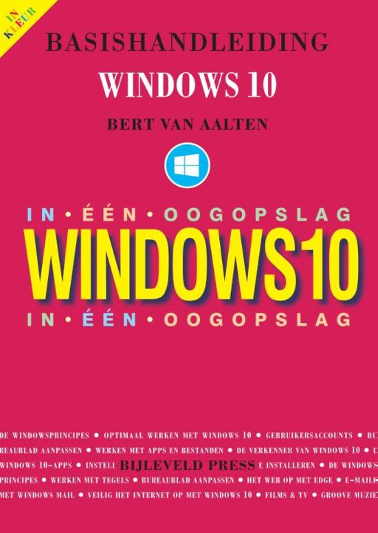 Basishandleiding Windows 10 in één oogopslag