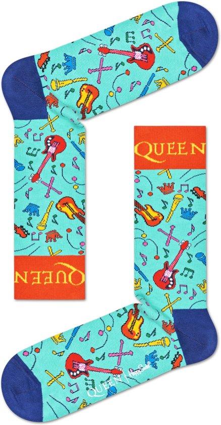 Happy Socks Sokken The Works Socks Queen Blauw Maat:41-46