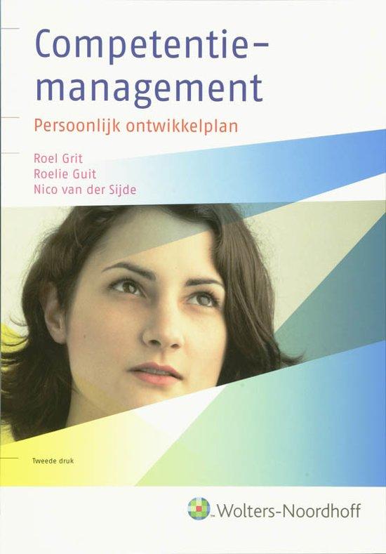 Boek cover Competentiemanagement van R. Grit (Hardcover)