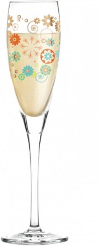 Ritzenhoff Pearls Proseccoglas 027 bloemetjes - 160 ml