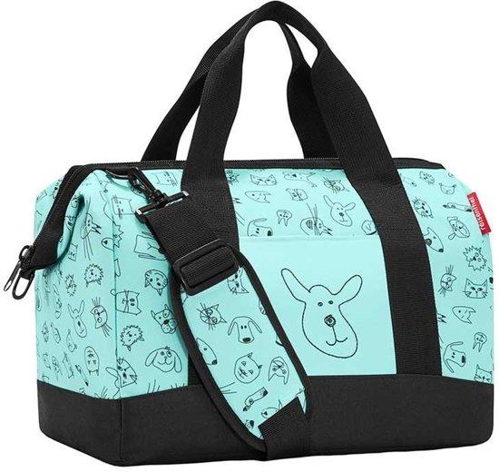 54d27e40694 Reisenthel Allrounder M kids Reistas - Kind - Polyester - 18L - Cats&Dogs  Mint