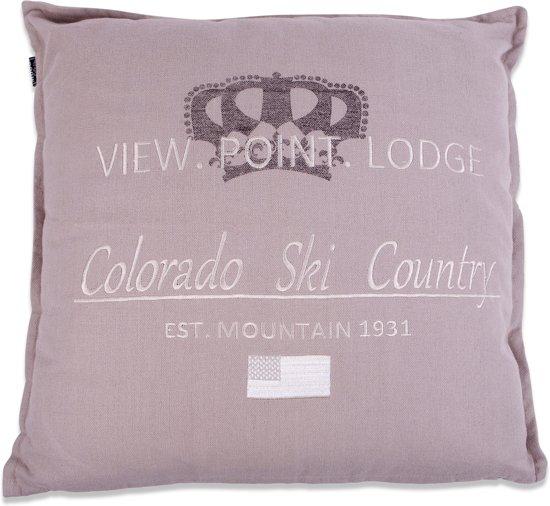 In The Mood Colorado - Sierkussen - 50x50 cm - Kiezel