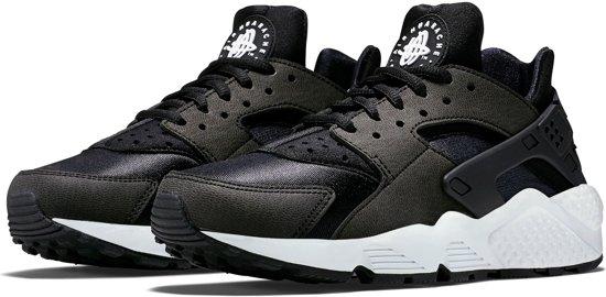 Nike Air Huarache Run Sportschoenen - Maat 39 - Vrouwen - zwart/wit