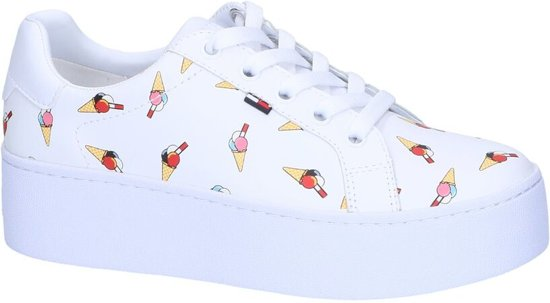 Witte Sneakers Tommy Hilfiger  Dames 37