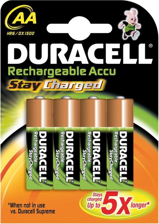 Duracell AA Oplaadbare Batterijen