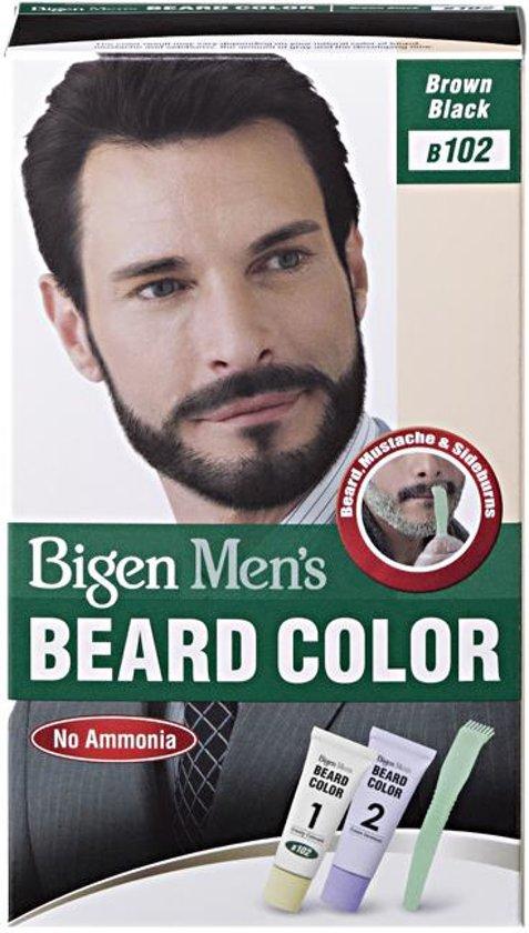 Bigen Men's BEARD COLOUR #B102 Brown Black