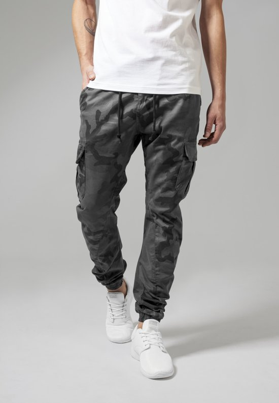 Urban Classics Camo Jogging Cargo Pants Grey rrgZqp