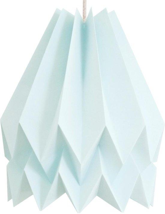 Bekend bol.com | Orikomi Origami lampenkap - Papier - Ø 45 cm - Mint &IZ19