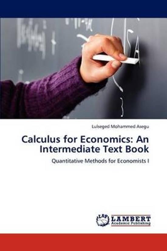 Calculus for Economics