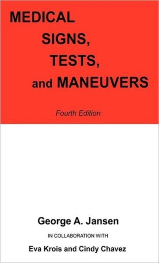 Medical Signs, Tests, and Maneuvers
