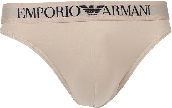 22946d16d82 bol.com | Emporio Armani - Basis Polyamide String Huidskleur - S