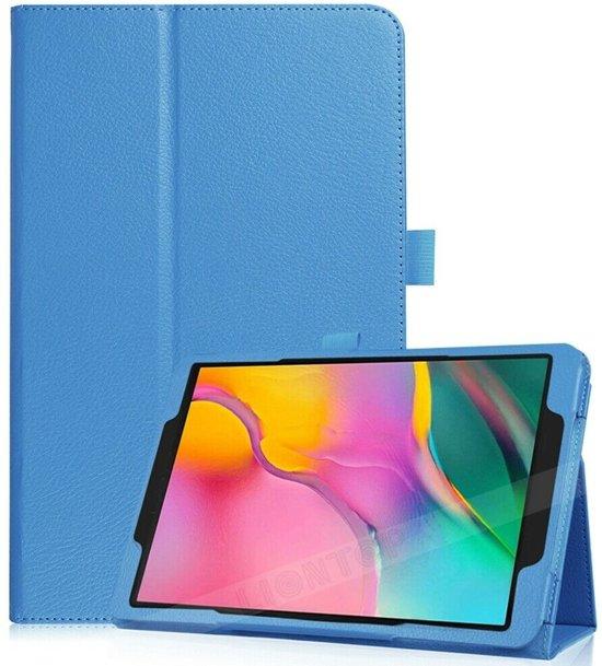 Samsung Galaxy Tab A 10.1 (2019) flip hoes - licht blauw