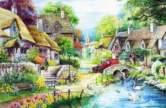 House of Puzzles Meadow River Cotage