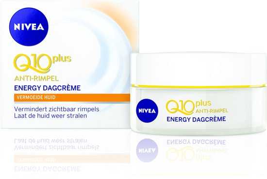 NIVEA Q10plus Anti-Rimpel Energy SPF 15 - 50 ml - Dagcrème