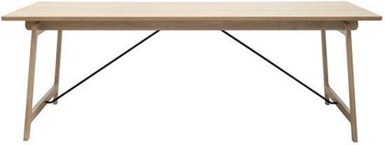 Salontafel Scandinavisch Design : Bol eettafel eik design tafel eiken