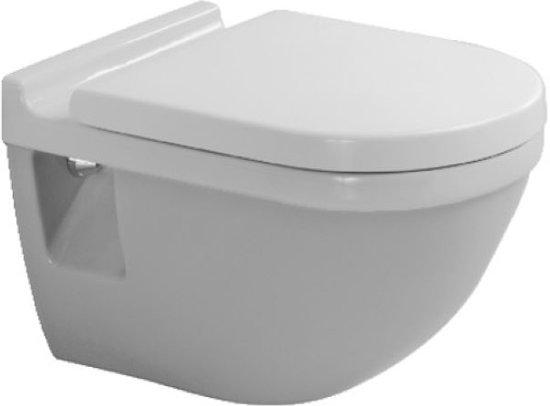 Vlakspoel Toilet Hangend : Bol duravit starck wandcloset vlakspoel