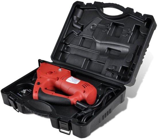 vidaXL Cirkelzaag Mini-cirkelzaag laser 600W met zwarte koffer