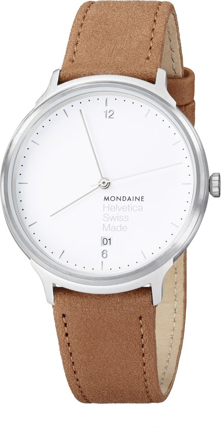 Mondaine Helvetica Nr.1 horloge - Unisex