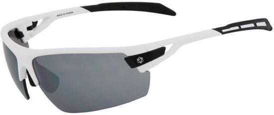 f6321c754a93ca AGU Foss - Sportbril - Lenscat. 3 - ☀ - Wit Zwart