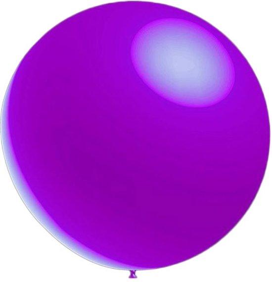 10 stuks - Metallic decoratieballonnen lavendel 28 cm professionele kwaliteit