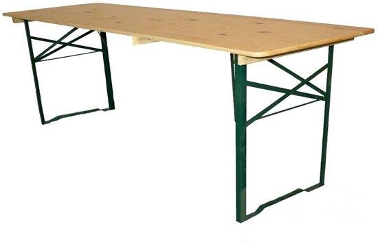 Biertafel 220 x 70cm  - Standaard - Blank