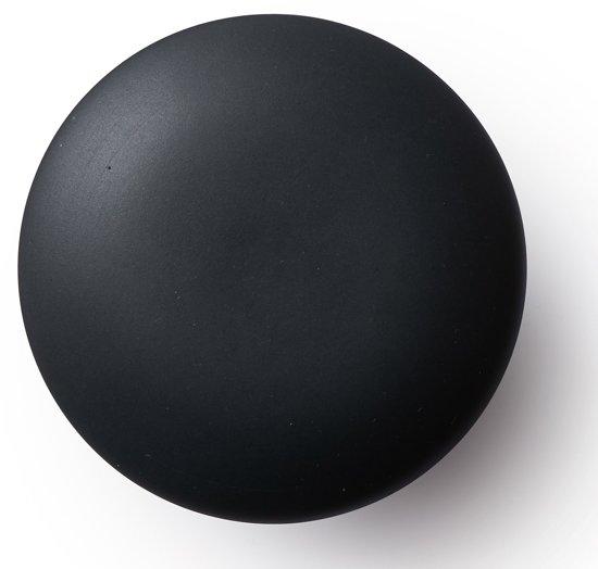 Bolcom Ann Black Mat Deurknop Extra Groot Zwart