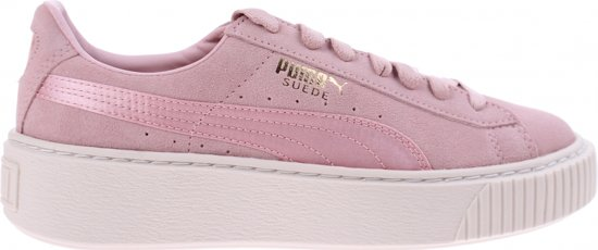 d055ae0ca5e bol.com   Puma Sneakers Platform Mono Satin Dames Roze Maat 35,5