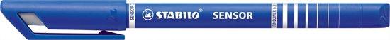 STABILO SENSOR Fineliner 0,3 mm Blauw - 40 stuks