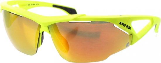 8120edfa974263 Bril Eassun Aero Montura 45007 geel frame - rood vuur lens